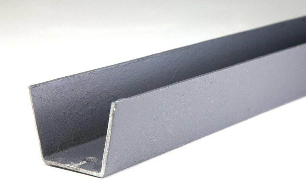 Cast Iron Box Gutter - 100mm x 1829mm Primed - OUT OF STOCK