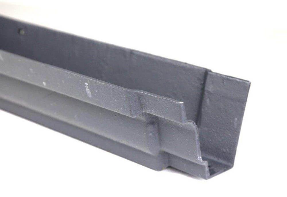 Cast Iron Moulded Ogee Gutter - 125mm x 1829mm Primed