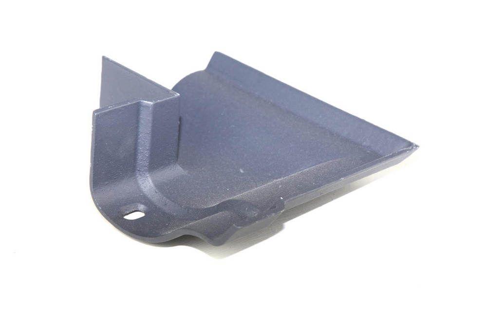 Cast Iron Ogee Gutter External Angle - 90 Degree x 125mm Primed