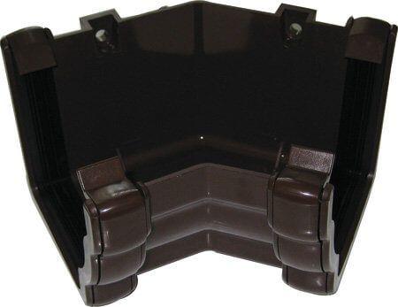 Ogee Gutter Internal Angle - 135 Degree x 80mm Brown