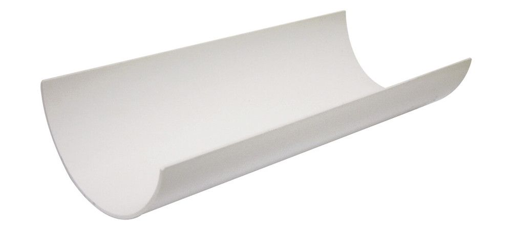 Half Round Gutter - 112mm x 4mtr White