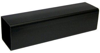 Square Downpipe - 65mm x 4mtr Black