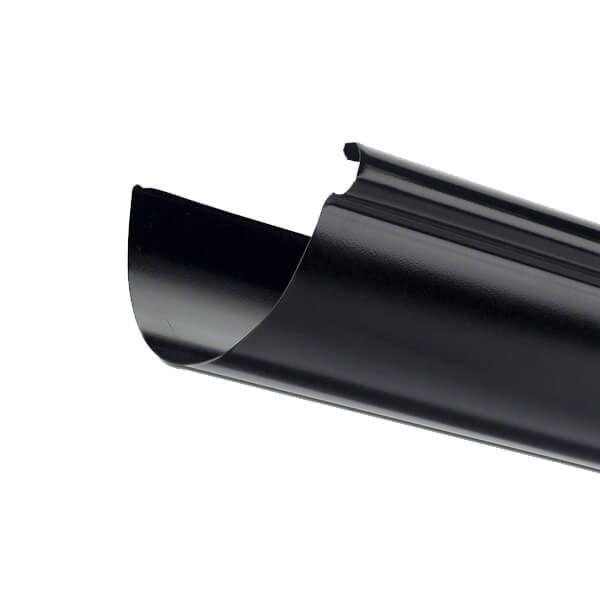 Steel Gutter - 135mm x 3mtr Black