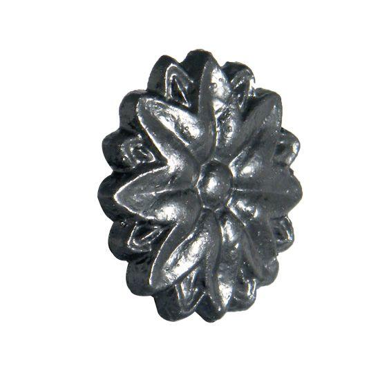 Gutter Motif Tudor Rose - Cast Iron Effect - Small