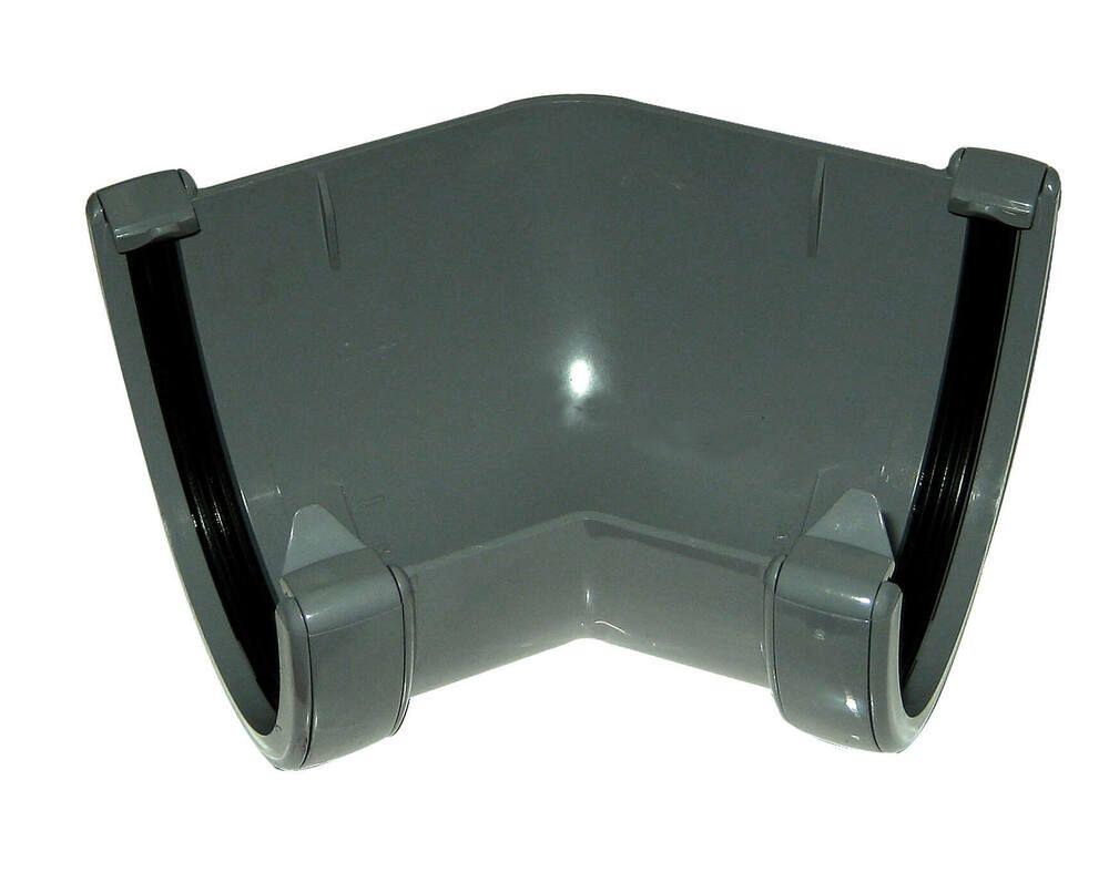 Deepflow/ Hi-Cap Gutter Angle - 135 Degree x 115mm x 75mm Anthracite Grey