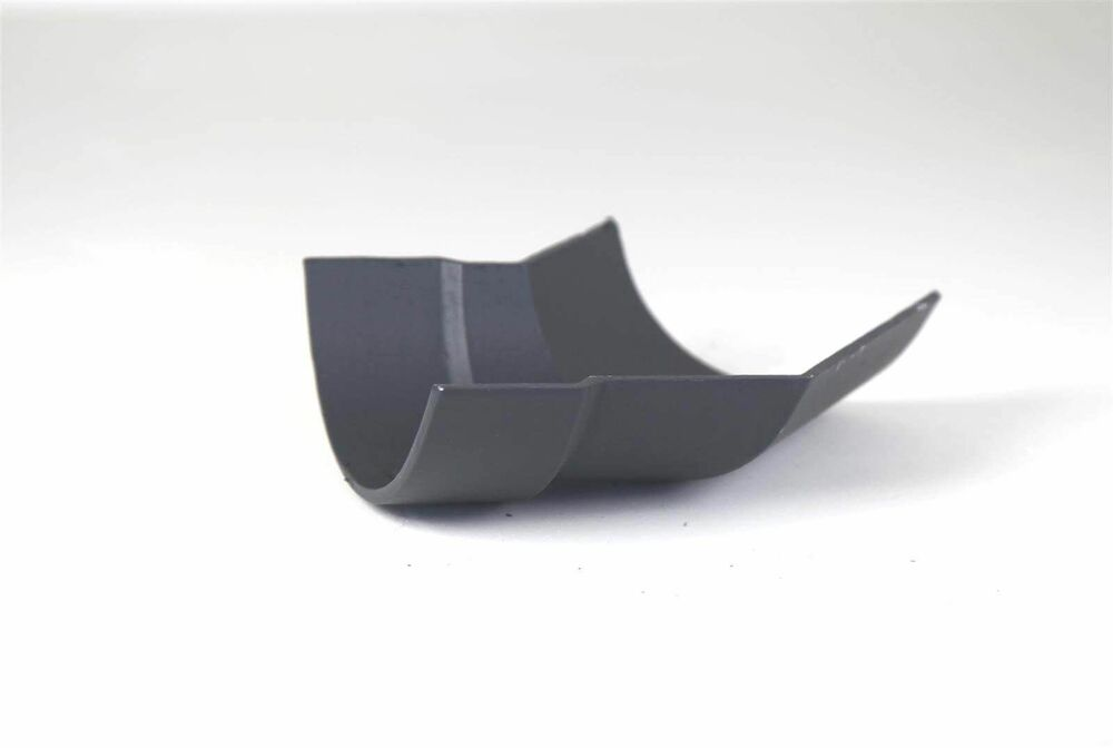 Cast Iron Half Round Gutter Left Hand Angle - 135 Degree x 125mm Primed
