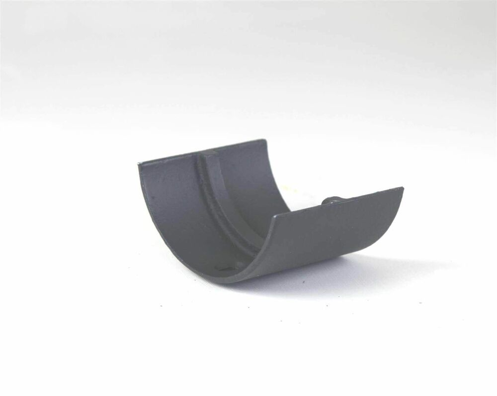 Cast Iron Half Round Gutter Union - 125mm Primed