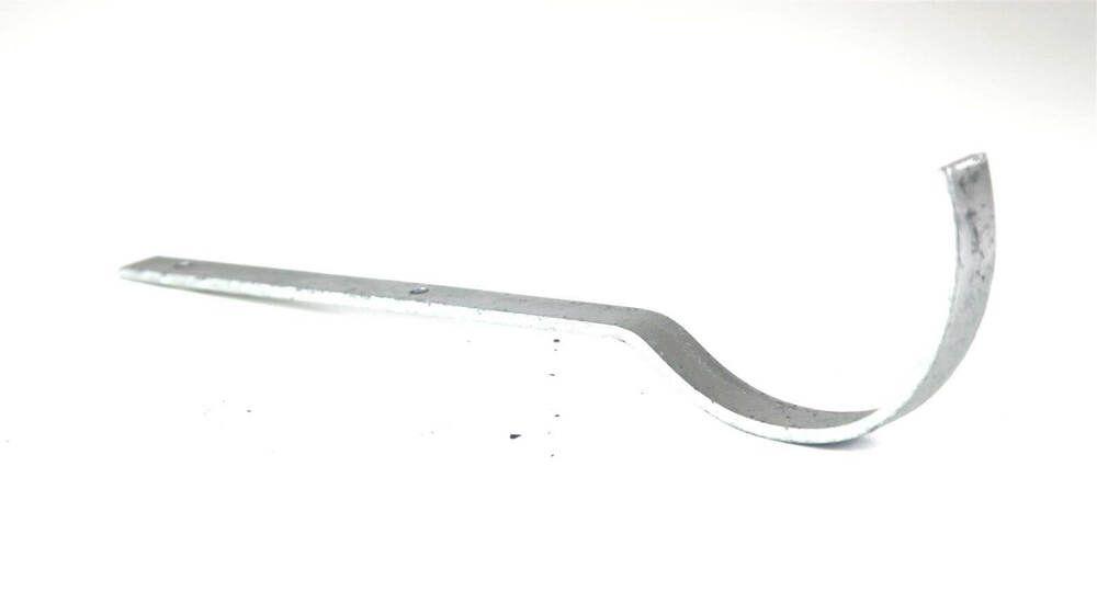 Cast Iron Half Round Gutter Top Rafter Bracket - 150mm Galvanised