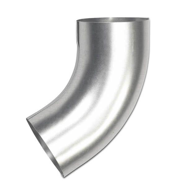 Steel Downpipe Bend - 60 Degree x 87mm Galvanised