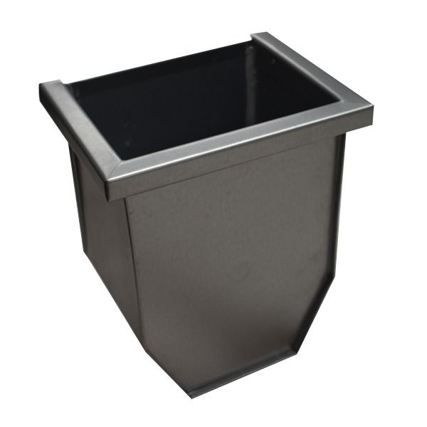 Steel Gutter Hopper - for 87mm Outlet Galvanised - OUT OF STOCK