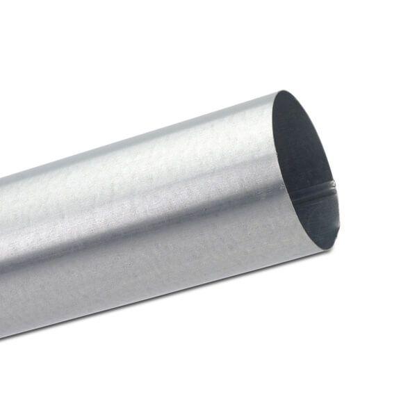 Steel Downpipe - 87mm x 3mtr Galvanised