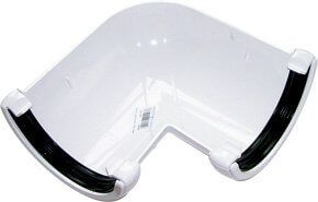 Mini Gutter Angle - 90 Degree x 76mm White - OUT OF STOCK