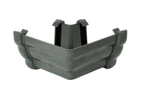 Ogee Gutter External Angle - 90 Degree x 80mm Anthracite Grey