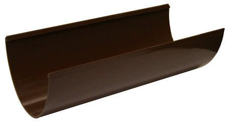 Deepflow/ Hi-Cap Gutter - 115mm x 75mm x 4mtr Brown