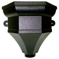 Ogee Gutter Hopper - 65/68mm Cast Iron Effect