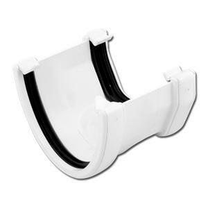 Deepflow/ Hi-Cap to Square Gutter Adaptor - White