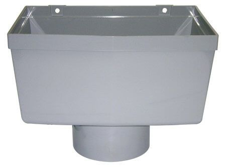 Industrial/ Xtraflo Gutter Hopper - 170mm Grey