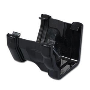 Square to Ogee Left Hand Gutter Adaptor - Black