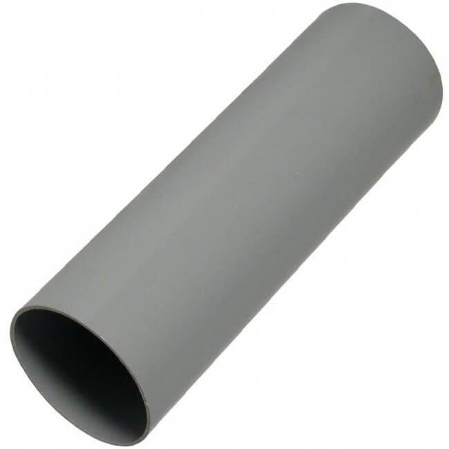 Round Downpipe - 68mm x 5.5mtr Grey