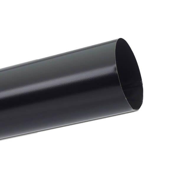 Steel Downpipe - 87mm x 3mtr Black