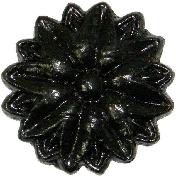 Gutter Motif Tudor Rose - Small 40mm Cast Iron Effect