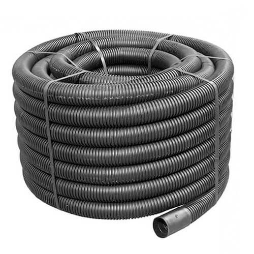 Flexi Duct - 110mm (O.D.) x 50mtr Black Coil