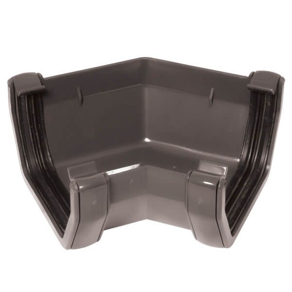 Square Gutter Angle - 135 Degree Anthracite Grey