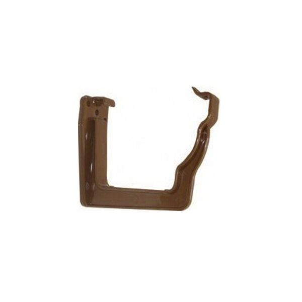 Ogee Gutter Fascia Bracket - 110mm x 80mm Brown