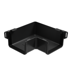 Square Gutter Large Internal Angle - 90 Degree x 135mm Anthracite Grey