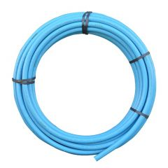 MDPE Pipe - 20mm x 25mtr Blue