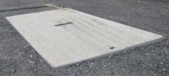 BT Quadbox Duct Access Cover Concrete - for 915mm x 445mm Chamber