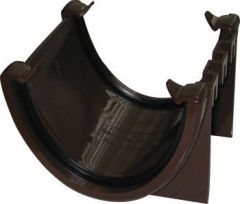 Deepflow/ Hi-Cap Gutter Union Bracket - 115mm x 75mm Brown