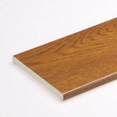 Soffit Board - 404mm x 10mm x 5mtr Golden Oak