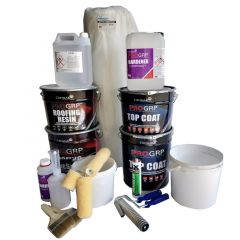 PRO GRP Roofing Kit - for 50SQM Roofs With Tools