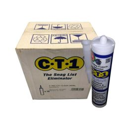 CT1 Sealant & Construction Adhesive - Clear 290ml - Box of 12