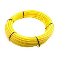 MDPE Gas Pipe - 25mm x 50mtr Yellow