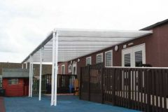 Storm Carport - 4mtr Length x 2mtr Projection