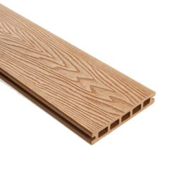 WPC Double Faced Decking Plank Teak - 25mm x 5000mm (L) x 148mm (W)
