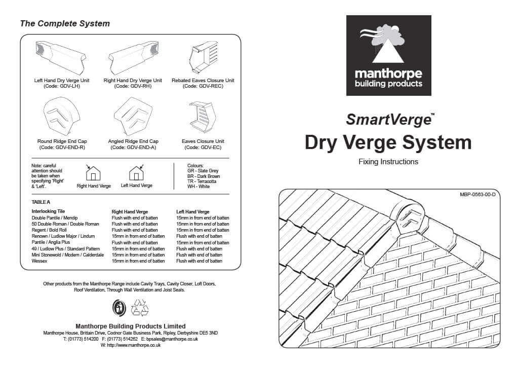 Dry Verge Installation - Page 1
