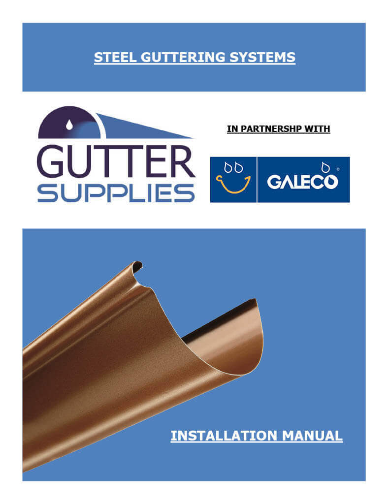 Steel Gutter Installation
