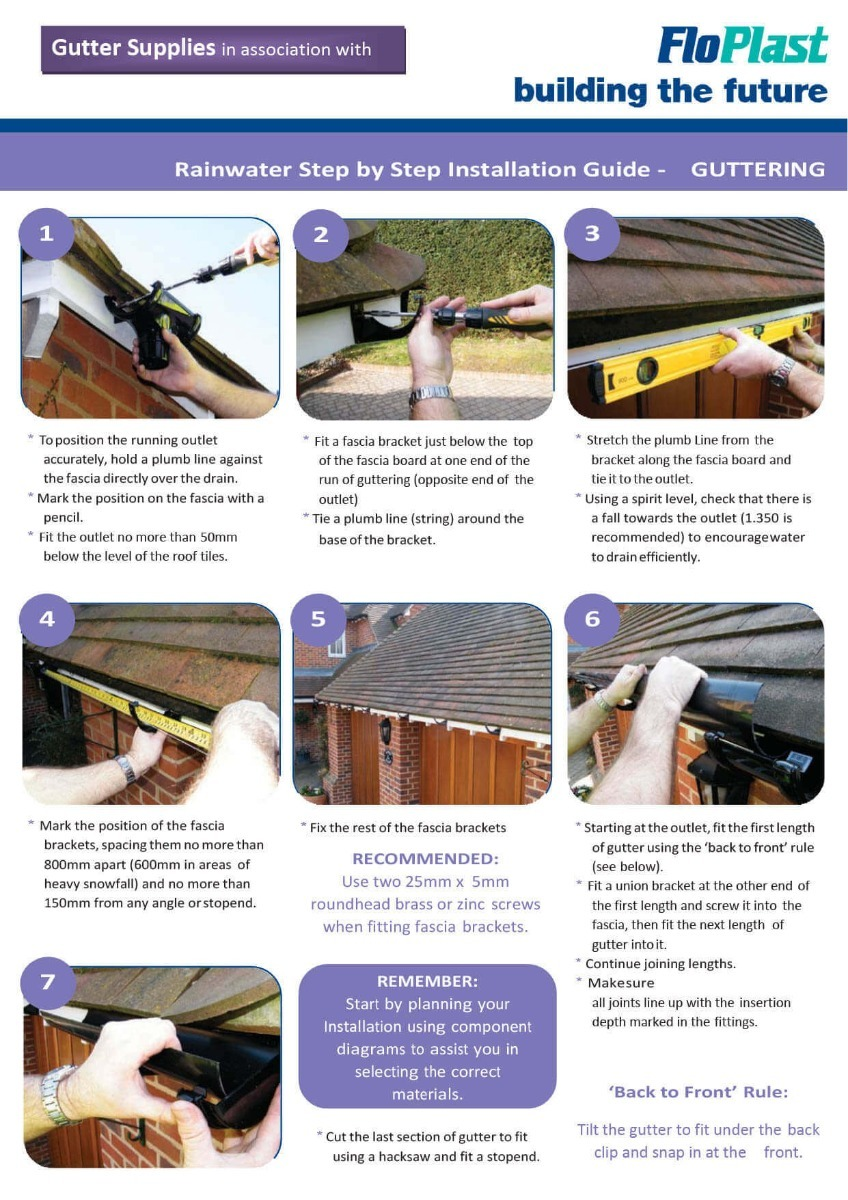 Buying And Installing Ogee Guttering