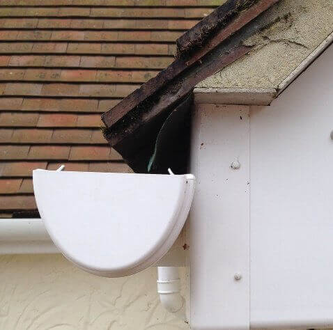 How Far Into The Gutter Should Roof Tiles Project
