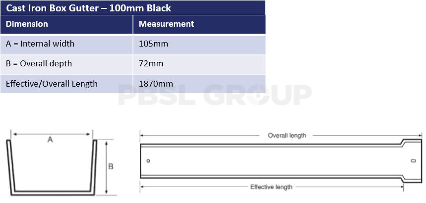 100mm Box Dimensions