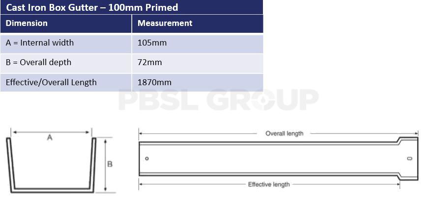 100mm Box Dimensions